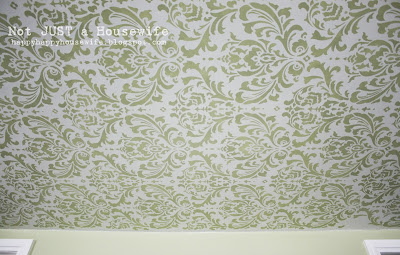 6room Stenciled Ceiling