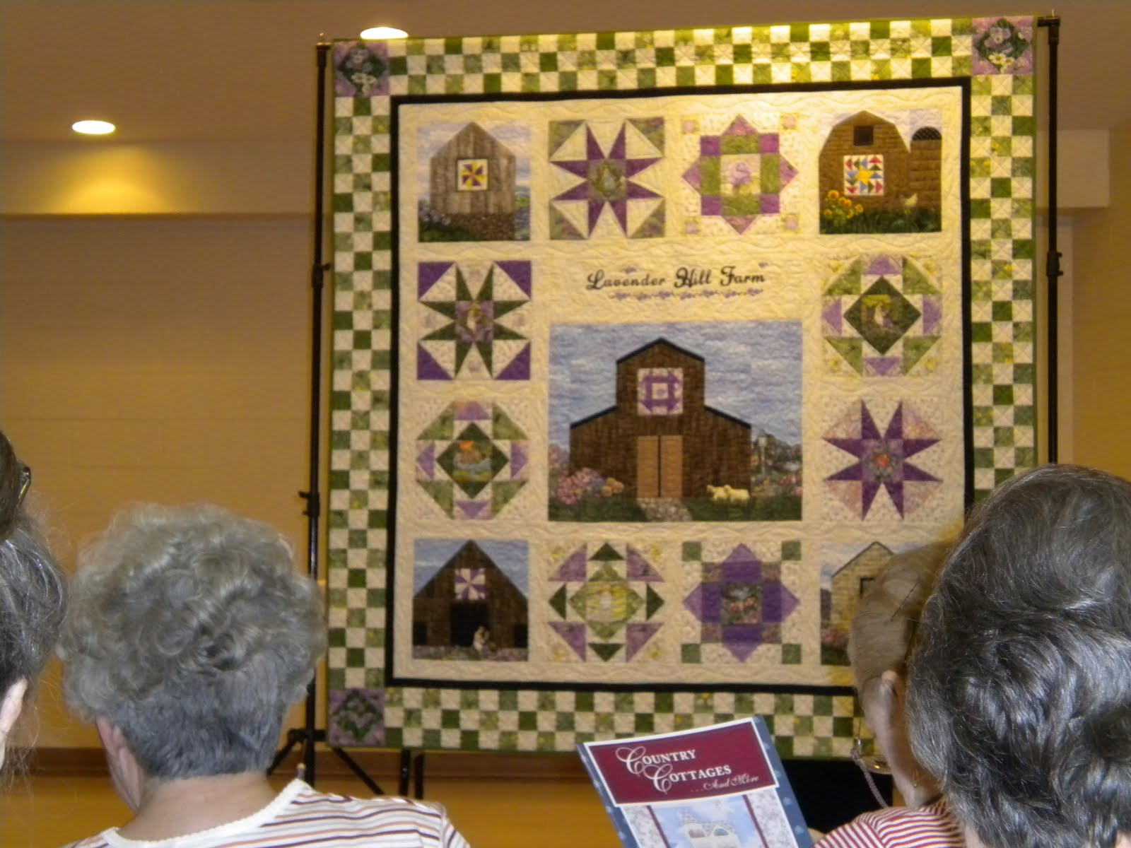 Jackson Patch Quilting: Pat Nagle, Eleanor Burns' sister
