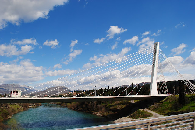 Подгорица. Мост Миллениум.