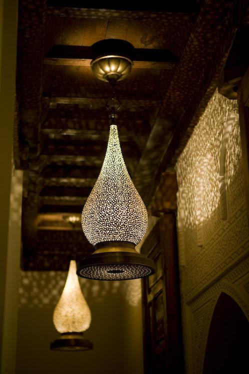 Nydelige marokkanske lamper