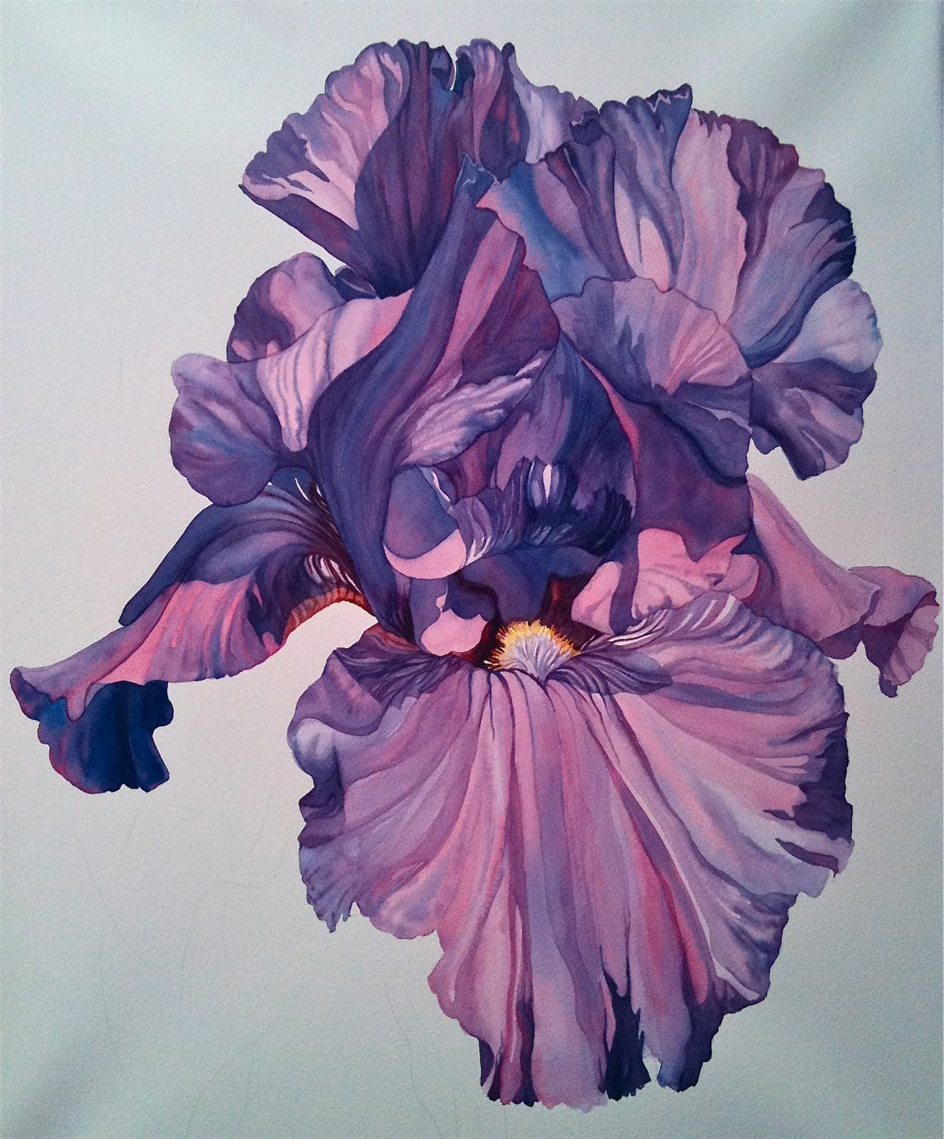 Joyce faulknor watercolorist painting florals dark to light painting florals dark to light izmirmasajfo
