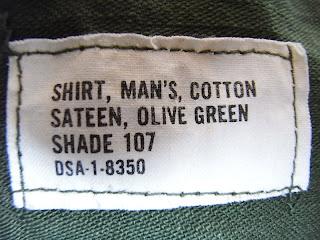 fatigue shirts tag