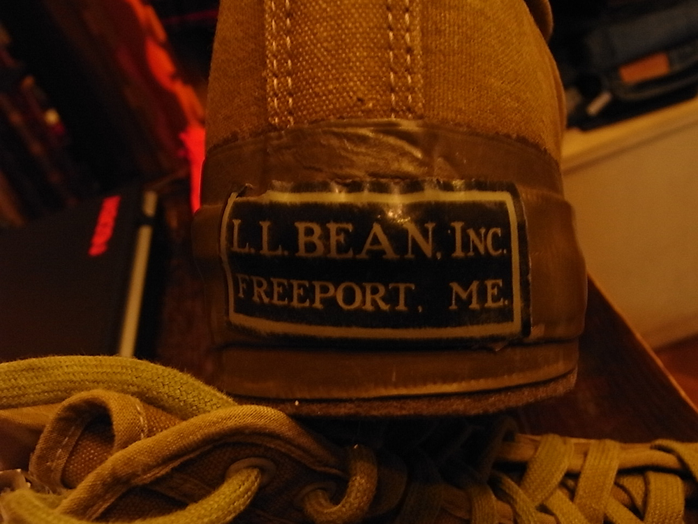mecca vintage osaka l.l.bean shoes