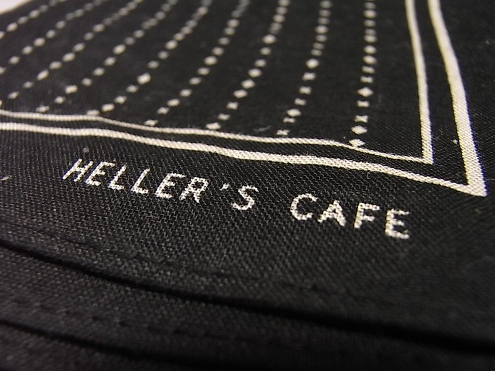heller's cafe bandana