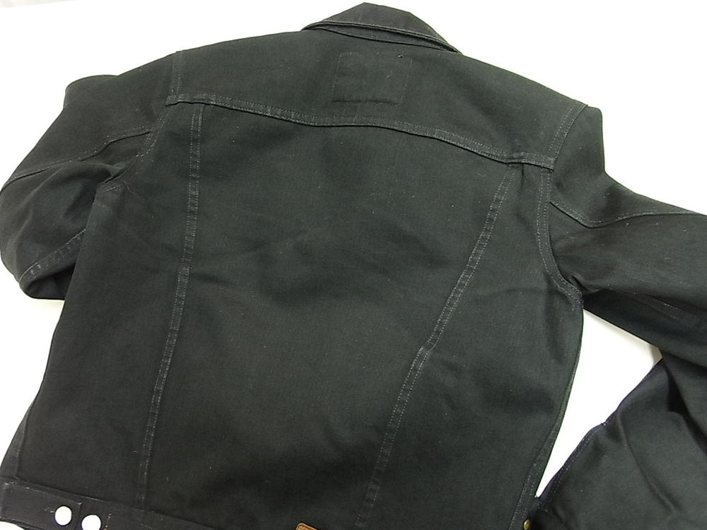jeanshop twill jacket black