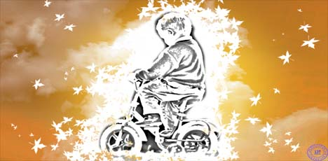 बापू मुझे भी बंटी जैसी साईकिल