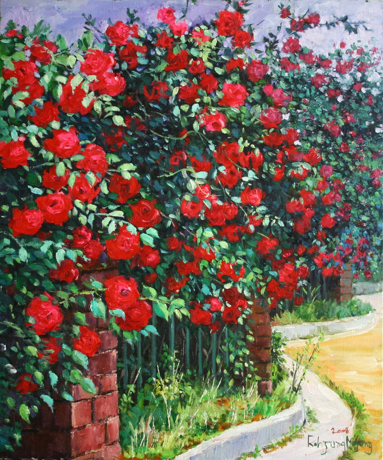 how to make a rose tree