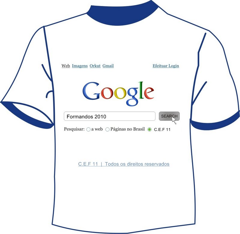 Camiseta Formandos 2010