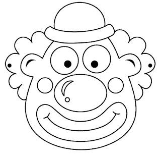 masque coloriage 52 Máscaras de Carnaval para colorir e imprimir para crianças