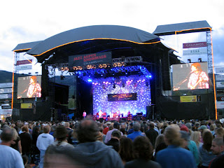 John Fogerty on the stage at Jazz Aspen Snowmass 2008