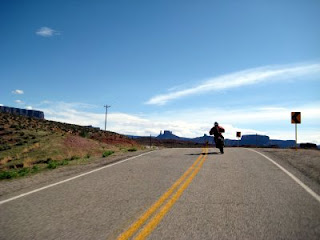 Kokopelli's Trail: Blasting down Highway 128 to Moab