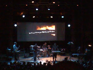 Pinback at the Ogden Theatre in Denver playing 'Penelope'