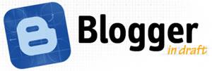Qué es Blogger in draft ?