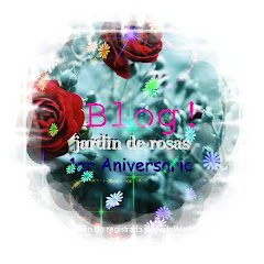 1er aniversario  jardin de rosas