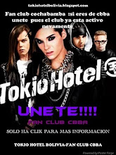 unete al fanclub Cochabamba!!!