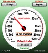 Verifique a sua velocidade de NET