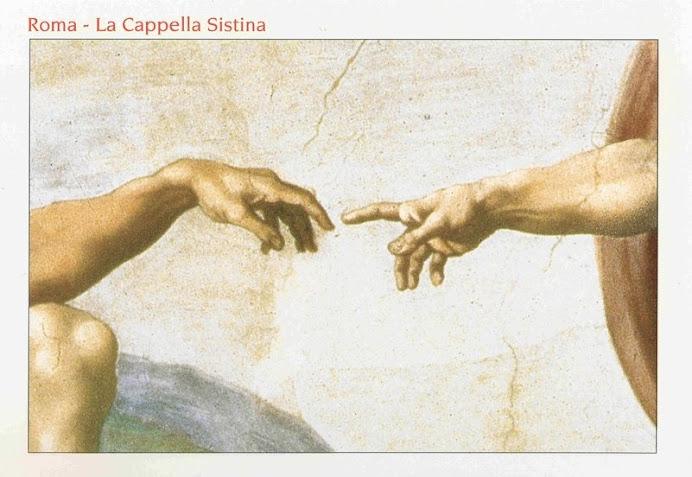 23012008 Roma, La Cappella Sistina (particolare) ..