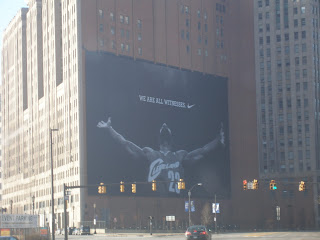 Lebron James NBA Cleveland Cavaliers billboard