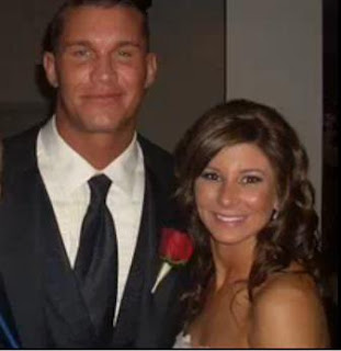 wwe randy orton with wife samantha speno