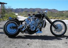 Old Motor Customs, Hot Classic Bike Modification