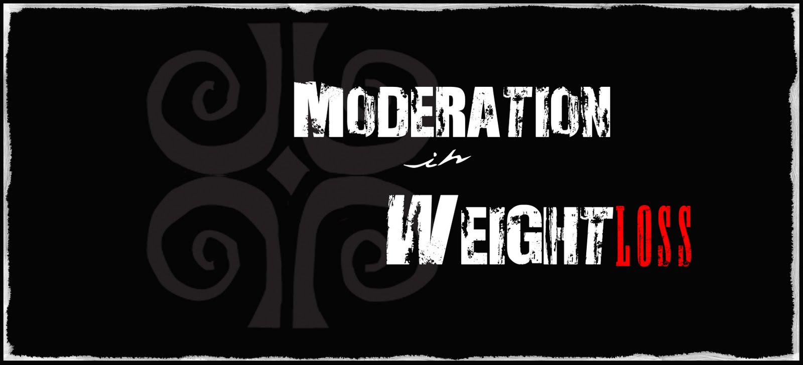 Moderation in Weight Loss