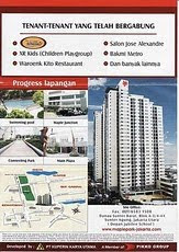 Disewakan Apartemen Maple Park