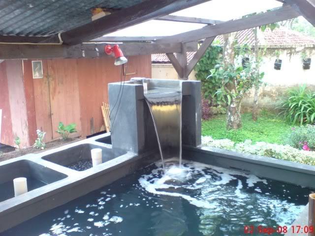 design kolam hias menambah keindahan rumah