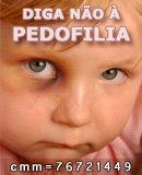 DIGA NAO A PEDOFILIA