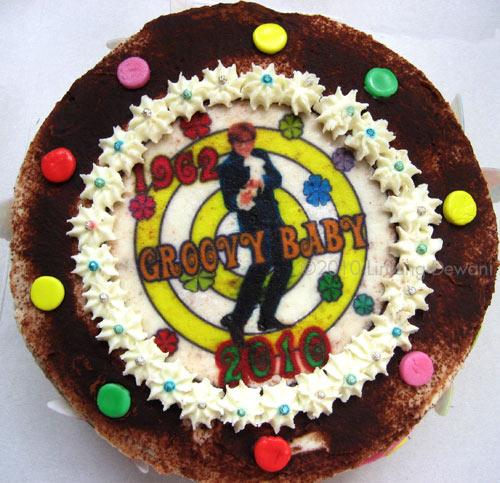 Tiramisu Cake Austin Powers Birthday
