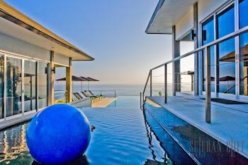 Cascading Pool     Виллы Бали роскошь