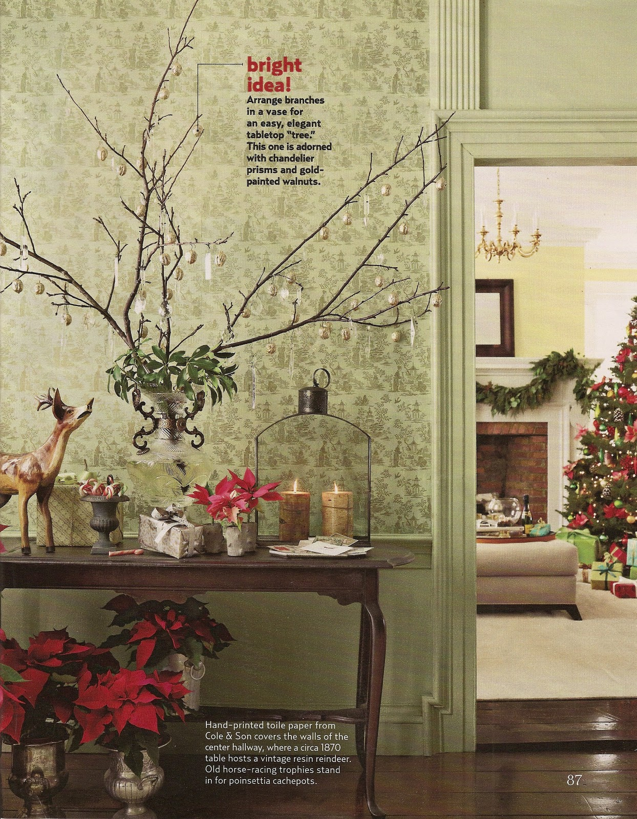 acanthus and acorn branch out with your holiday decorating