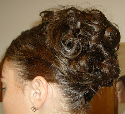 homecoming updos