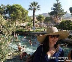 Cleopatra's pool, Hierapolis, Pamukkale, Turkey