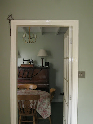 Farrow and Ball Blue Gray Earthborn Gregory's Den