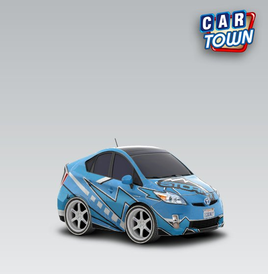 toyota prius car town template. IF YOU WANT THE TEMPLATE,ADD