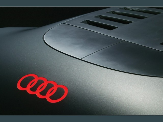 audi logo wallpaper