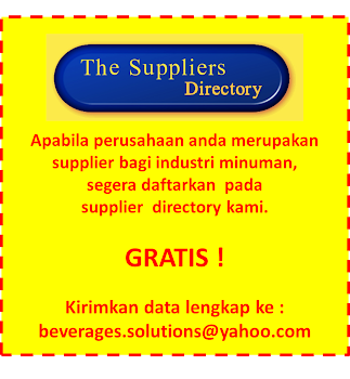 Directory Rekanan Industri Minuman