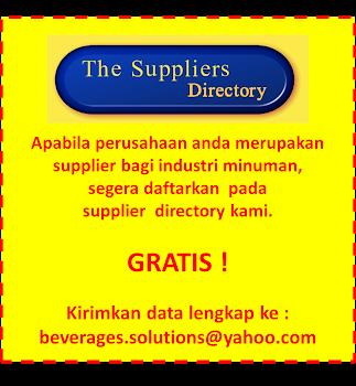 Directory Rekanan Industri Minuman