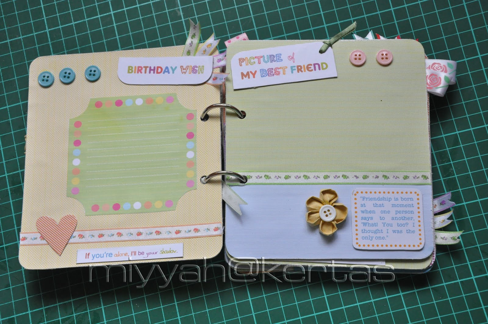 Miyyahkertas The Home Made Scrapbook Album Sounds Like Muffin