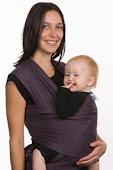 Wrap com bebê grande