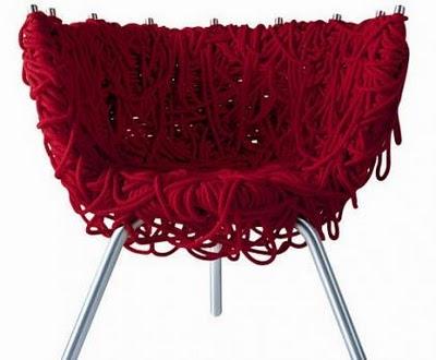 Cadeira Vermelha - Irmãos Campana