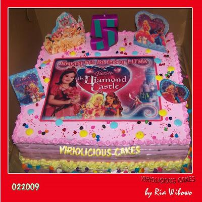 Barbie Castle Cake Images : VIRIOLICIOUS CAKES: PARADE DISNEY PRINCESS, LOVE & BERRY ...
