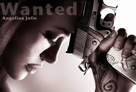 angelina jolie in wanted photos