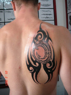 Custom Tribal tattoo designs on back