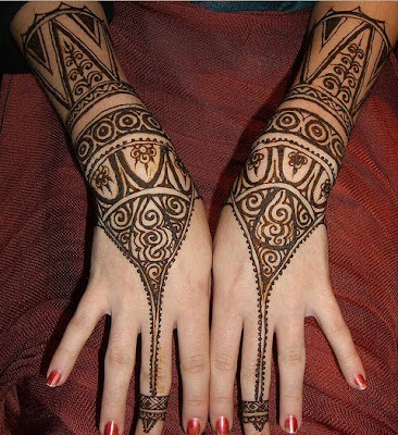 Tribal Henna Tattoo - Temporary tattoos. Email. Written by hadiah on