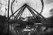 Norbert Witte lives in a trailer inside the gates of a derelict theme park . (spreepark by megan cullen)