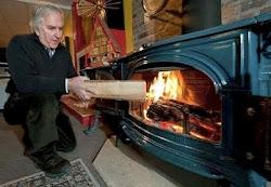 Easy Heat! No Bulky Logs!