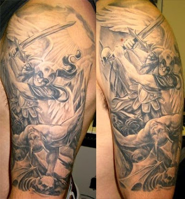 St. Michael the Arch Angel Tattoo. St. Michael the Arch Angel Tattoo Heroes.