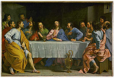 Philippe de Champaigne.  The Last Supper. 1654.