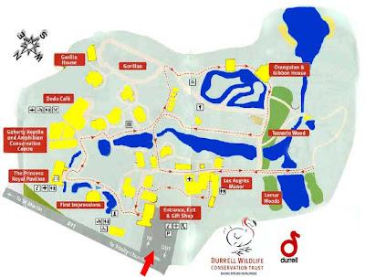 Jersey Zoo plan